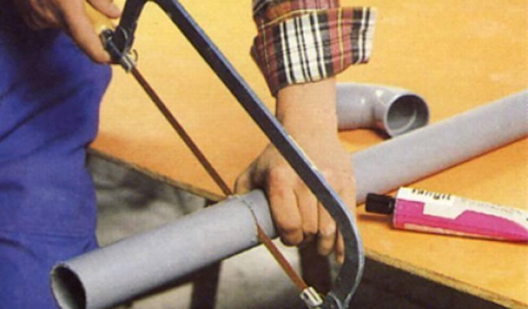 Travailler un tuyau en PVC