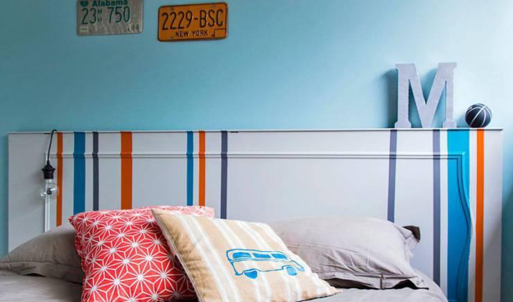 Une tête de lit déco à faire soi-même!