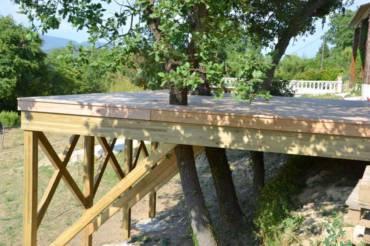 Comment construire sa terrasse à moindres frais ?